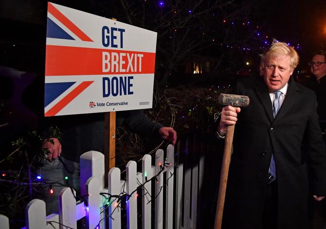 อังกฤษเลือกตั้งชี้ชะตา'เบร็กซิต' โพลล์ทุกสำนักระบุ'จอห์นสัน'ชนะ