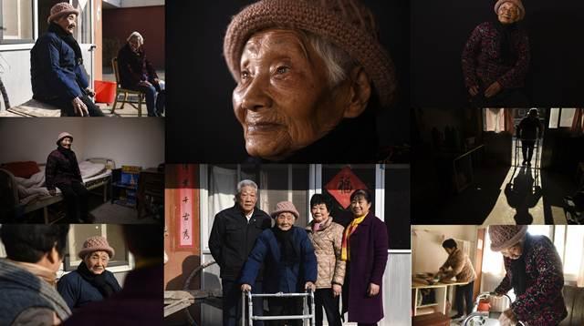 อูจี๋อิง และครอบครัว (ภาพ ซินหัว)