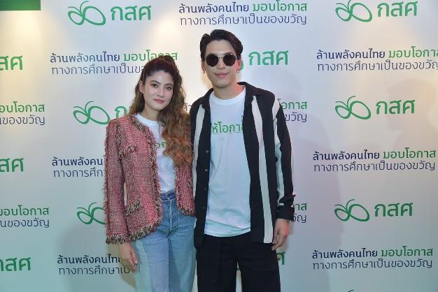 """""""ป๊อก-มาร์กี้"""" เปิดโครงการ""""ล้านพลังคนไทย มอบโอกาสทางการศึกษาเป็นของขวัญ""""  ชวนคนไทยร่วมบริจาคสมทบเพื่อช่วยเหลือเด็กด้อยโอกาส"""