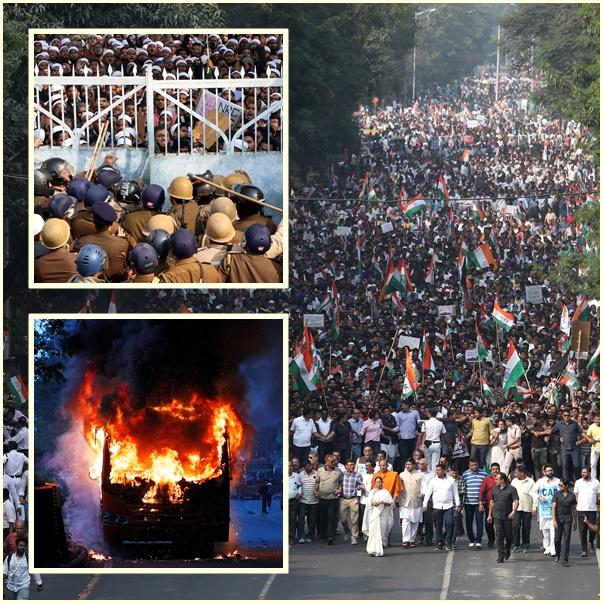 "InPics&Clip:อินเดียเดือด! ดับเพิ่ม 6 เซ่น ""กม.สัญชาติกีดกันมุสลิม""  ประท้วงลามทั่วประเทศ  โมดียันกม.ถูกต้อง1000%"