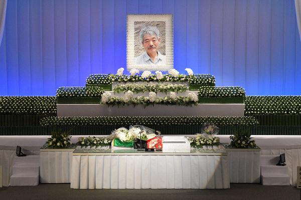 พิธีศพของนพ.นากามูระ ที่เมืองฟูกูโอกะ