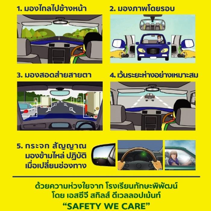 เอสซีจี แนะเคล็ดลับ 3 มอง 2 ปฏิบัติ ลดอุบัติเหตุช่วงปีใหม่ สู่ Zero Accident