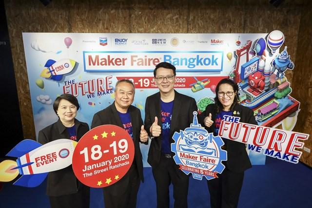 """เตรียมยลโฉมอนาคตที่สัมผัสได้ในงาน""""Maker Faire Bangkok 2020"""""""