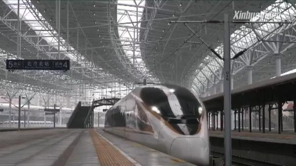 จีนทดสอบรถไฟความเร็วสูง 'ขับเคลื่อนด้วยตัวเอง' สายปักกิ่ง-จางเจียโข่ว จ่อเปิดใช้ปลายปีนี้