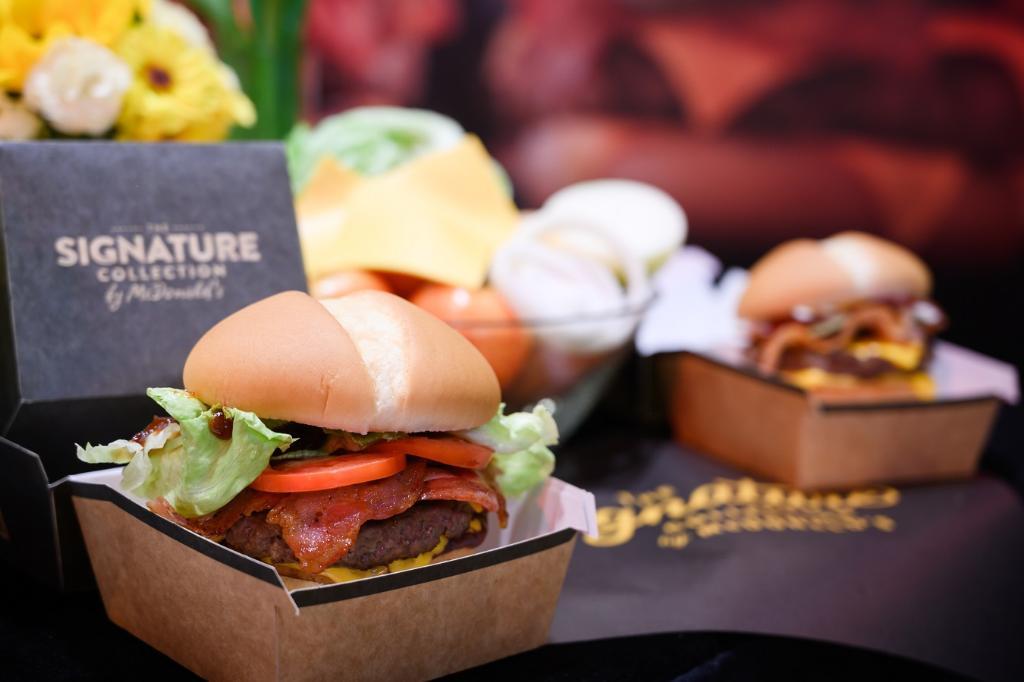 แมคโดนัลด์ ส่งพรีเมียมเบอร์เกอร์ลงตลาด ดันยอดขายเบอร์เกอร์เนื้อโต 30%