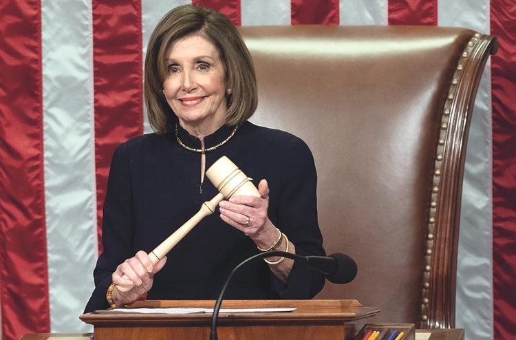 ความยิ่งใหญ่ของ  Nancy Pelosi