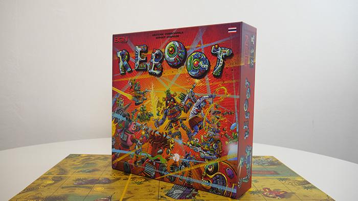 """""""REBOOT"""" บอร์ดเกมสัญชาติไทย จากโครงการบ้านปู บีสปอร์ต"""