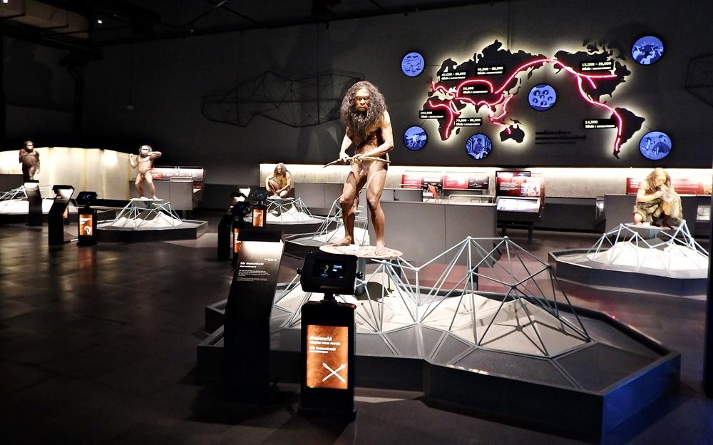 """บรรยากาศนิทรรศการ โซน """"HUMAN ODYSSEY"""" ณ """"พิพิธภัณฑ์พระราม ๙"""""""