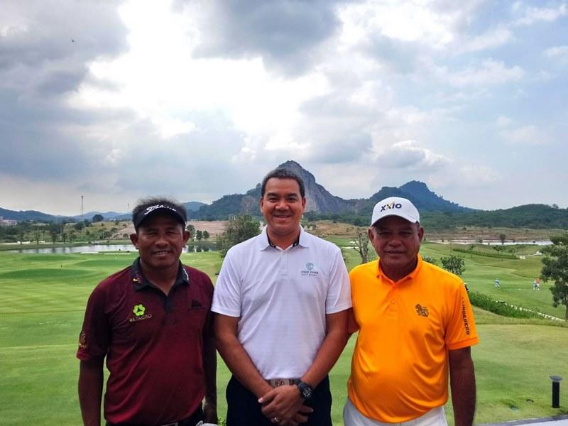 สนามชีจรรย์ฯ ต้อนรับสองโปรกอล์ฟขวัญใจชาวไทย