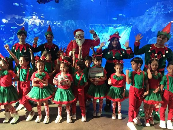 อควาเรีย ภูเก็ต จัดงาน Aquaria Phuket Christmas Celebration 2019 ฉลองคริสมาสและปีใหม่ 2020