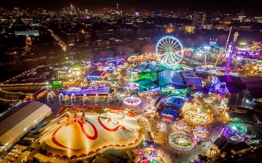 ตลาดคริสต์มาสวินเทอร์ วันเดอร์แลนด์ ลอนดอน