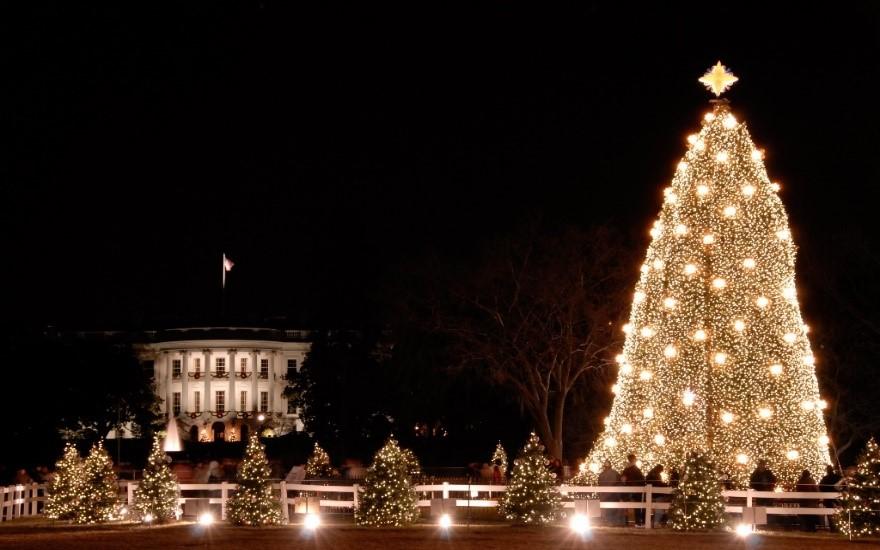 ตลาดคริสต์มาส Enchant Christmas วอชิงตันดีซี