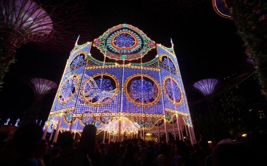 ตลาดคริสต์มาสวันเดอร์แลนด์ในสิงคโปร์