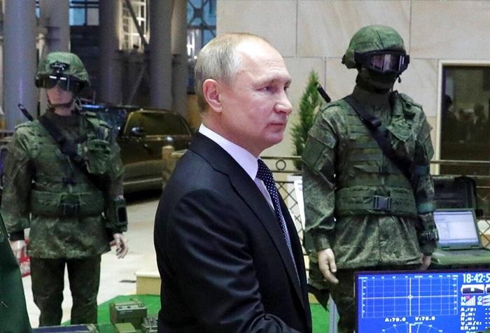 'ปูติน'โว ครั้งแรกกองทัพรัสเซียนำหน้ากองทัพสหรัฐฯเรื่องเทคโนโลยีทหาร  ลั่นเป็นปท.เดียวในโลกติดตั้งอาวุธ'ไฮเปอร์โซนิก'