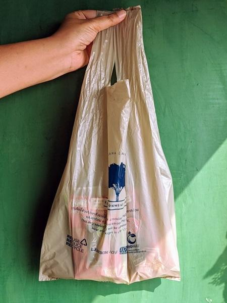 """งานงอก!! ที่ Lawson 108 ก่อนดีเดย์งดแจกถุง เพจ CHULA Zero Waste แจงยิบ """"ถุงพลาสติกย่อยสลายได้(ของแท้)แบบไหน"""""""