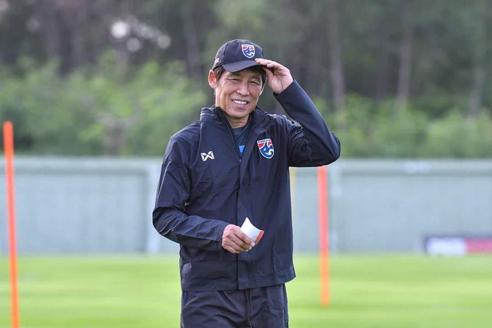 """""""นิชิโนะ"""" เผยอุ่นแข้ง 2 ทีมดัง พร้อมเปลี่ยนทีมลุย U23 ชิงแชมป์เอเชีย"""