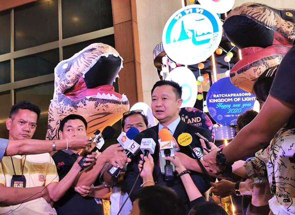 ททท.ส่งความสุขปีใหม่ จัดเคาท์์ดาวน์ยิ่งใหญ่ Amazing Thailand Countdown 2020 ทั่วประเทศ