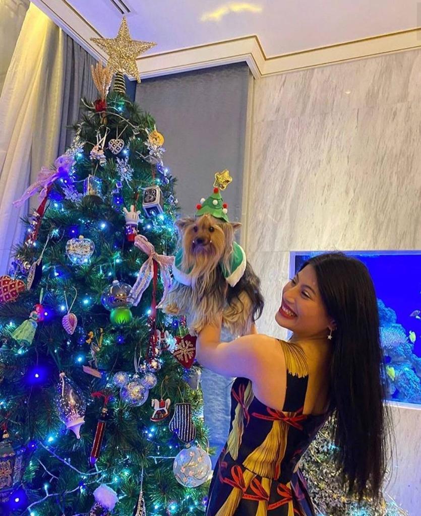 ควันหลง เจ้าฟ้าสิริวัณณวรีฯ ทรงฉลองคริสต์มาสด้วยพระพักตร์แจ่มใสกับสุนัขทรงเลี้ยงสุดโปรด
