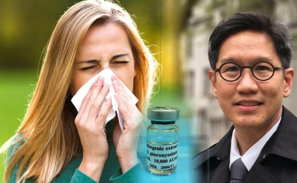 """วัคซีน """"ไรฝุ่น"""" รักษาโรคภูมิแพ้"""