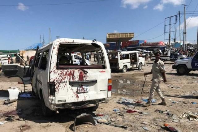 บึ้มสนั่นด่านตรวจเมืองหลวงโซมาเลีย ดับแล้ว 13 เจ็บอีกอื้อ