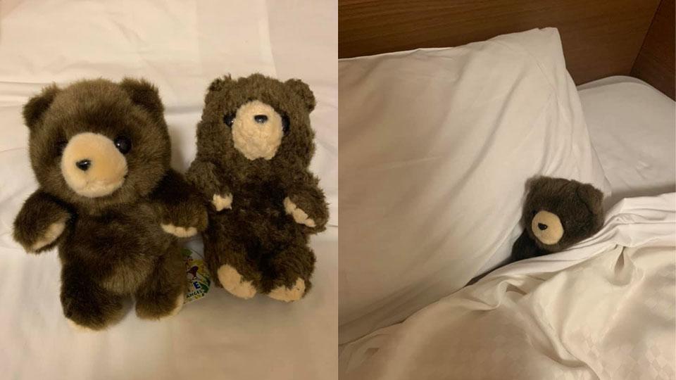 สาวไทยชมโรงแรมญี่ปุ่น ลืมตุ๊กตาไว้บนเตียงถูกซักจนพัง ชดใช้ซื้อของใหม่สภาพเดิม