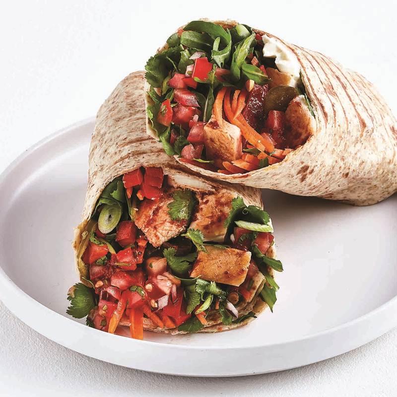 Spicy Burrito Wrap