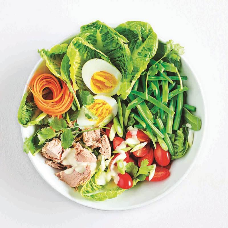 Tuna Protein Bowl