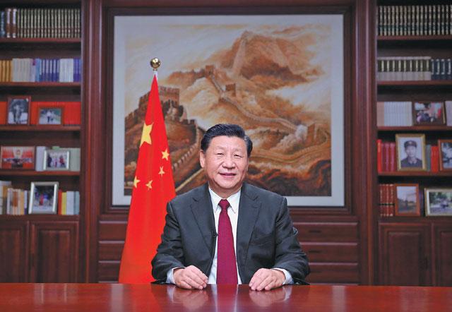 """สี จิ้นผิง สวัสดีปีใหม่ """"เชื่อมั่น ปี 2020 จีนจะชนะความยากจนอย่างเด็ดขาด"""""""