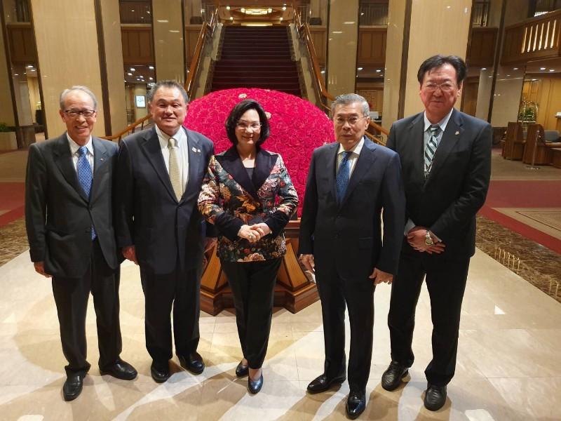 'ญี่ปุ่น' เชิญ 'คุณหญิงปัทมา' วิ่งคบเพลิงโอลิมปิก 2020