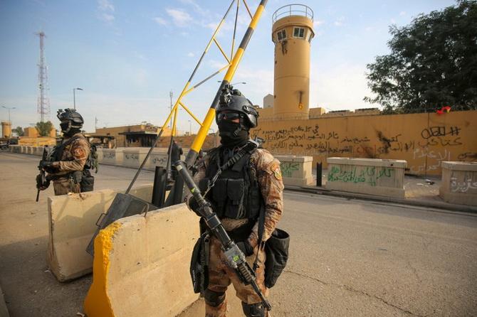 เพนตากอนเตือนสมุนอิหร่านอาจโจมตีอีก หลังจู่โจมสถานทูตสหรัฐฯในอิรัก