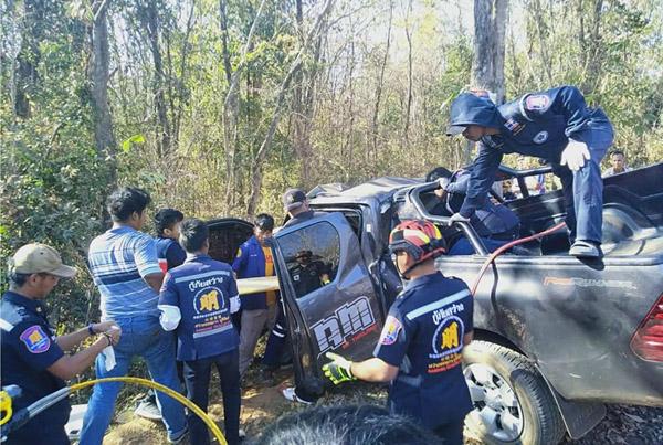 สรุป 7 วันปีใหม่อุบัติเหตุ 3,421 ครั้ง ตาย 373 ราย กทม.ครองแชมป์ดับ