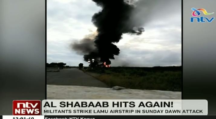 """In Clip: กองทัพสหรัฐฯยืนยันถูก """"อัล เชบับ"""" เข้าโจมตีฐานในเคนยา"""