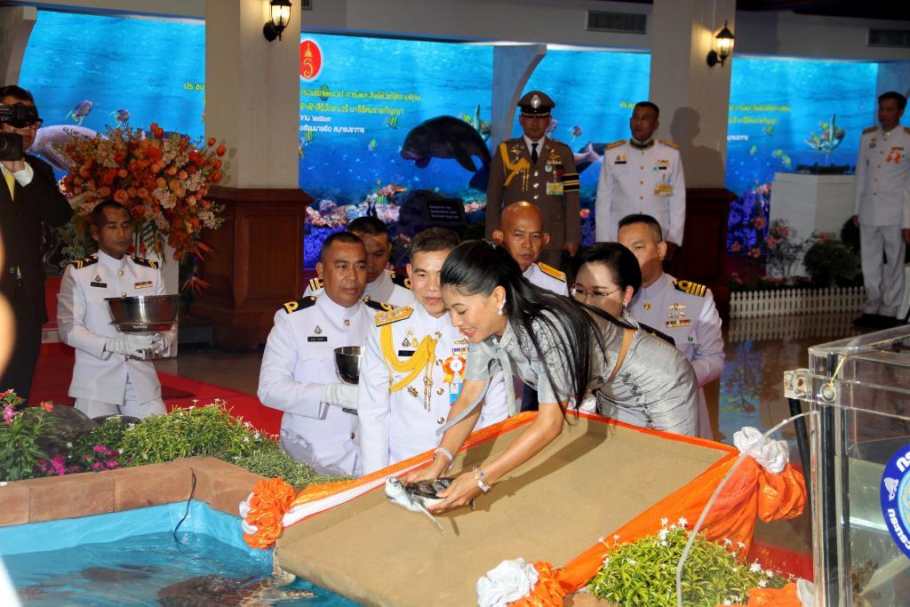เจ้าฟ้าสิริวัณณวรีฯ ทรงเป็นประธานการประชุมโครงการอนุรักษ์แนวปะการังและสิ่งมีชีวิตใต้ทะเลไทย ในพระดำริฯ