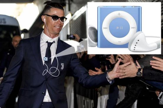 """อิทธิพลของ """"โรนัลโด้"""" ส่วนปลุกชีพ iPod Shuffle"""