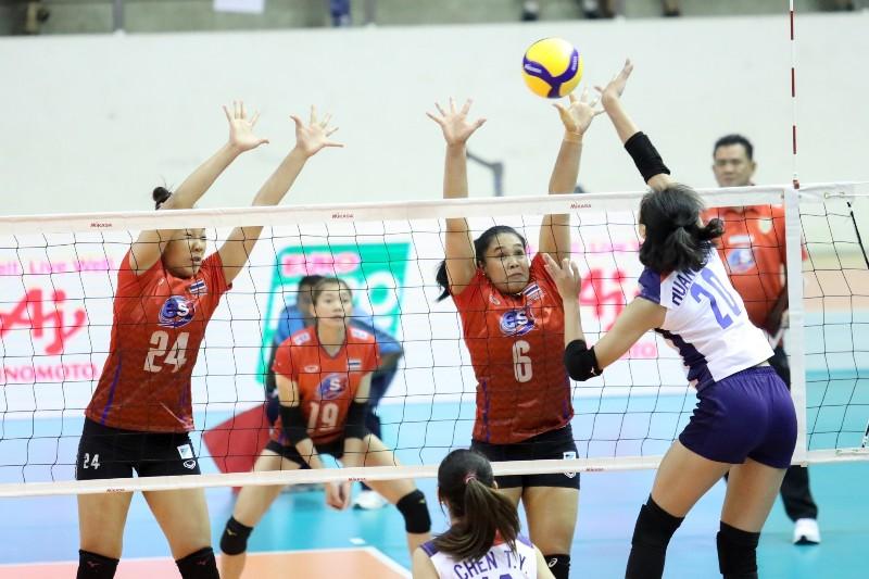 สาวไทย ประเดิมอัด ไต้หวัน 3-0 ศึกชิงตั๋วโอลิมปิก