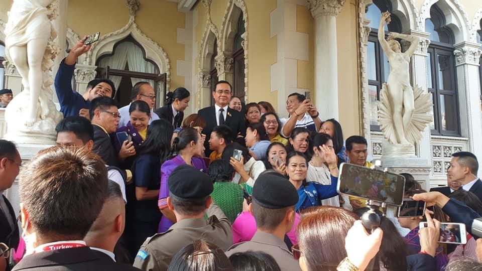 """""""บิ๊กตู่""""ให้โอวาทเด็ก-เยาวชนดีเด่น ตั้งมั่นในความดี อย่าลืมความเป็นไทยหันมาทำลายกันเอง"""