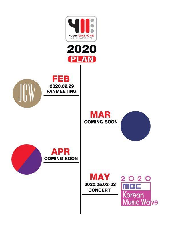 """""""โฟร์วันวันฯ"""" เปิดโผโปรเจ็กต์ปี 2020 เตรียมฟินทั่วหล้า..ขนพระเอกสุดหล่อ-บอยแบนด์ -เกิร์ลกรุ๊ป -มหกรรมคอนเสิร์ตเคป็อปตบเท้ามาไทย!!"""