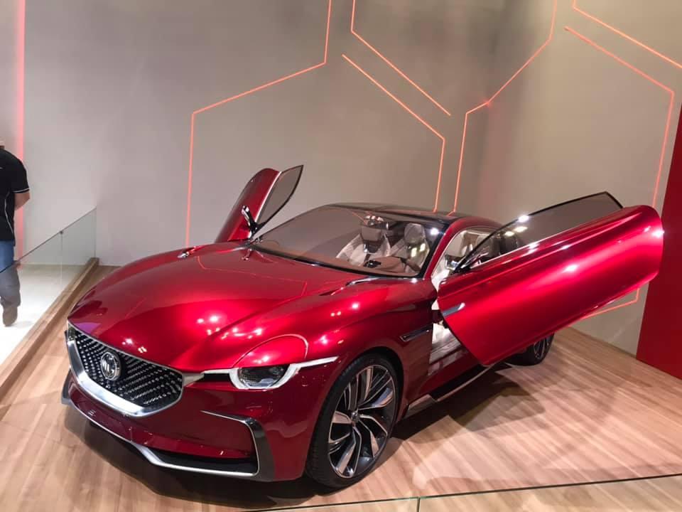 รถต้นแบบ MG