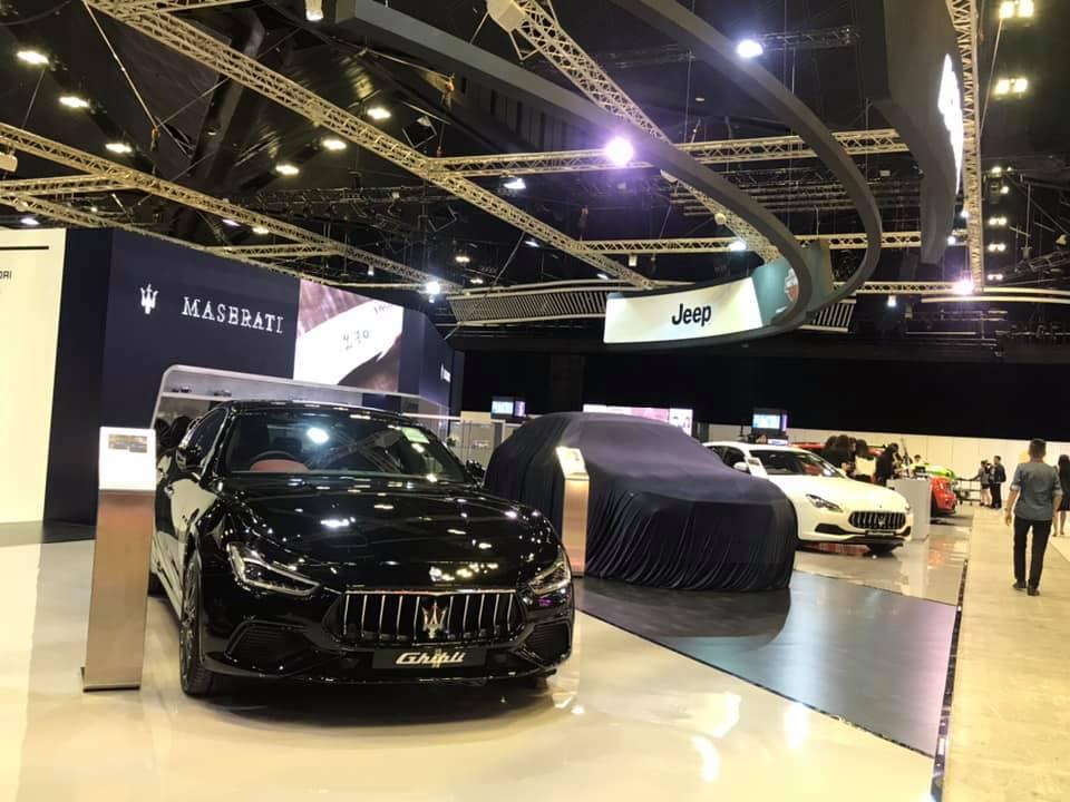 Maserati ก็เข้าร่วมงานนี้ด้วยเช่นกัน