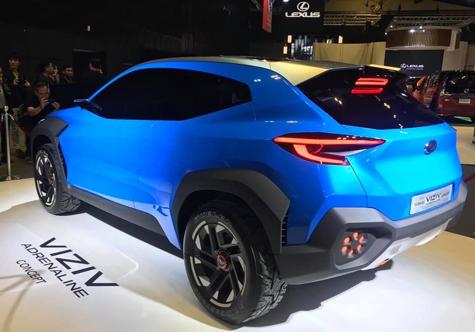 รถต้นแบบ Subaru Viziv Adrenaline concept