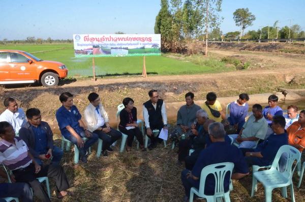 เขื่อนลำปาวรุกสร้างความเข้าใจใช้น้ำหน้าแล้ง แนะเกษตรกรมีวินัยแบ่งปันการใช้น้ำ