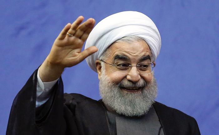 ประธานาธิบดีฮัสซัน โรฮานี ของอิหร่าน