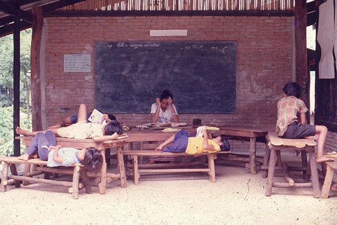 การเรียนการสอนนอกกรอบแต่นักเรียนอยากเรียนรู้