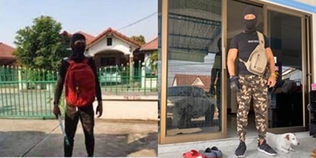 ไม่ตลกด้วย! หนุ่มแต่งกายเลียนแบบโจรคดีปล้นร้านทองลพบุรี หวั่นเกาะกระแสดัง