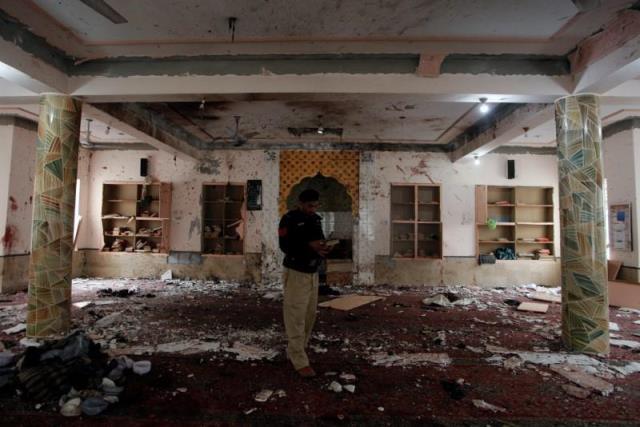ยอดผู้เสียชีวิตเหตุระบิดมัสยิดปากีฯ ฝีมือไอเอส เพิ่มเป็น 15 คน