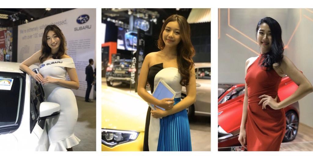 """ชม """"พริตตี้"""" ดินแดนลอดช่อง. งาน Singapore Motorshow 2020"""