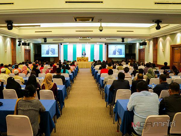 เลขาธิการ ศอ.บต.ประชุมรับฟังความคิดเห็นการพัฒนาเศรษฐกิจพื้นที่สุไหงโก-ลก