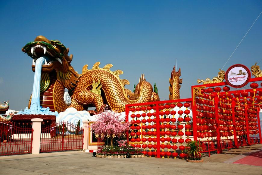 ตรุษจีนสุพรรณบุรี  (ภาพ : เพจ Thailand Festival)