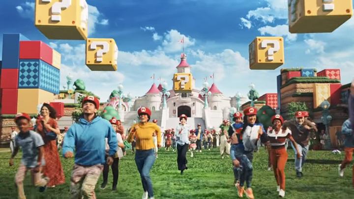 """เผยโฉมสวนสนุก """"Super Nintendo World"""" แนวคิดวีดีโอเกมในโลกจริง"""