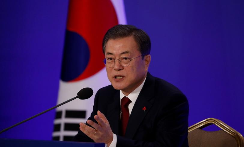 ปธน.เกาหลีใต้ชี้เจรจา 'มะกัน-โสมแดง' ยังไม่สิ้นหวัง-แนะใช้ความร่วมมือ 2 เกาหลีกรุยทาง 'ปลดล็อคคว่ำบาตร'